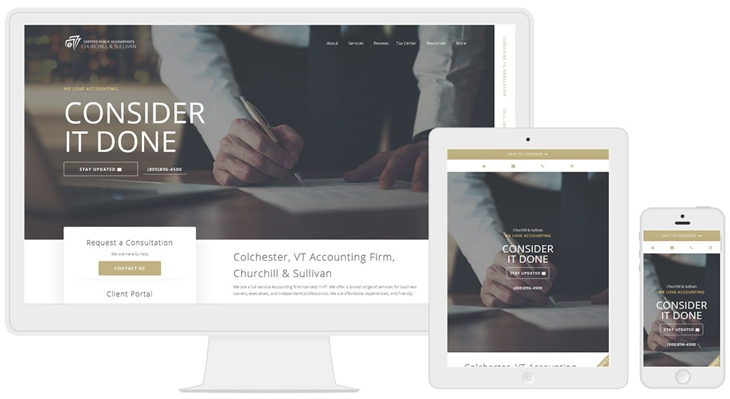 CPA Site Solutions: Accounting Websites. CPA Website marketing (Free For 60 days)