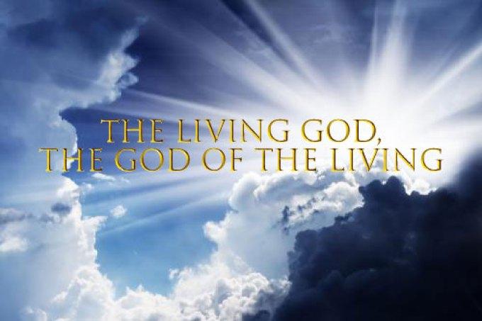 Image result for THE LIVING GOD
