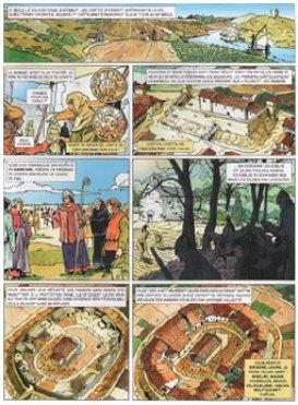 Claude Pelet Auteur BD - L'Aude dans l'histoire - page 14