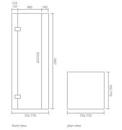 crystal corner shower enclosure set [ 1000 x 1000 Pixel ]