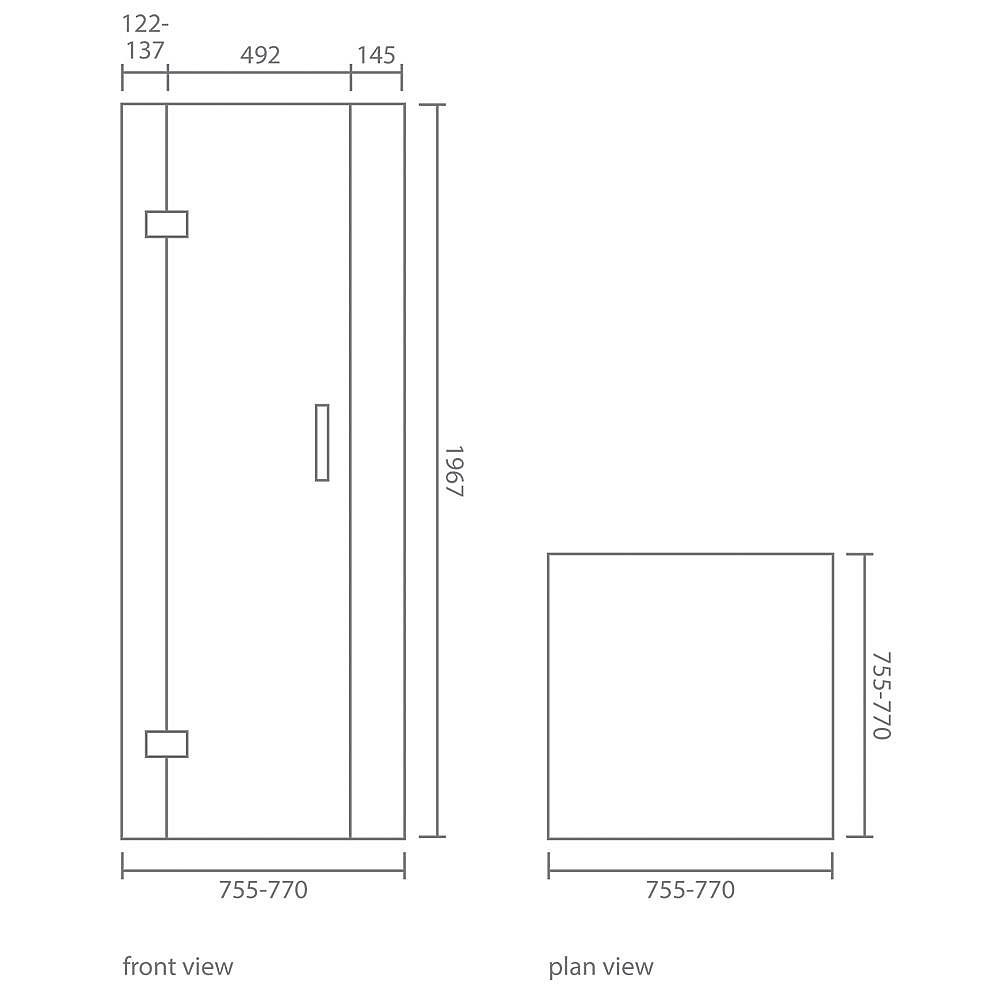 medium resolution of crystal corner shower enclosure set