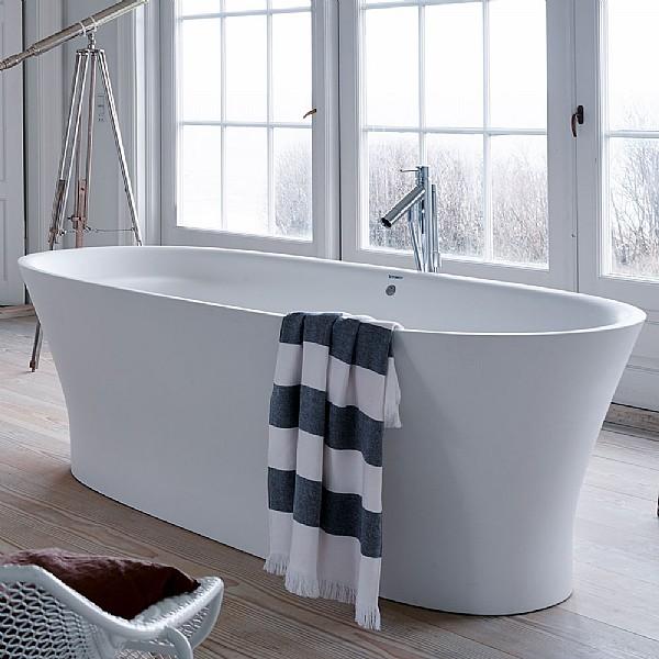 Duravit Cape Cod Freestanding Bath Freestanding Baths