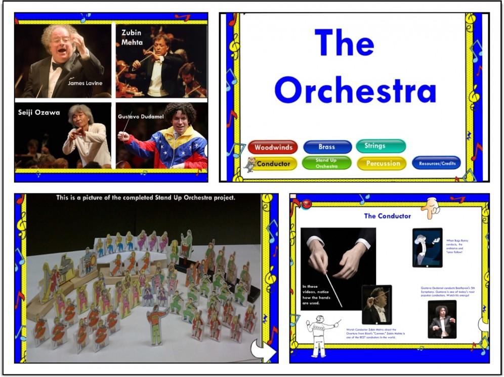 SMARTBoard Music Lesson: The Orchestra