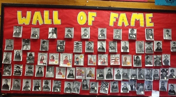 REcorder Karate Wall of Fame March 2014