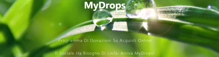 Chiusura del progetto My drops