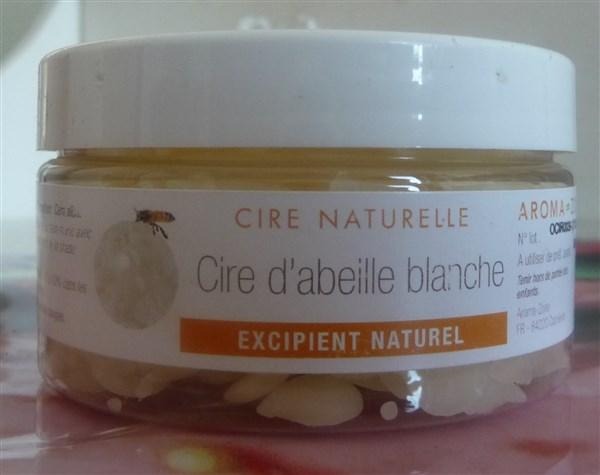 50gr de cire d'abeille blanche.