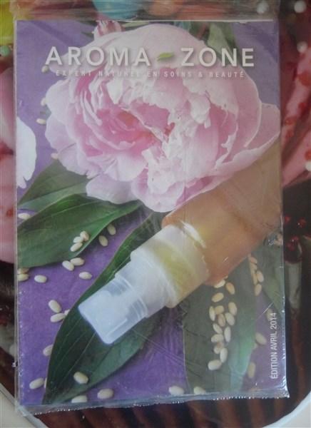 Un catalogue Aroma-Zone.