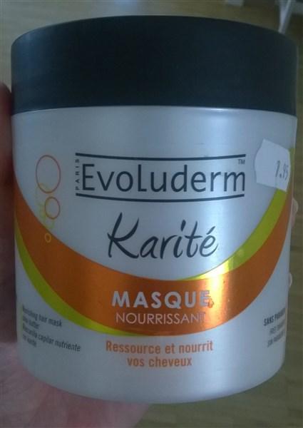 Evoluderm, Karité, masque nourrissant, %00ml, chez Maxi-Bazar pour 7,90chf