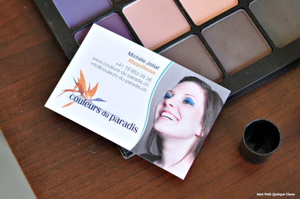 Le Makeup de Roberta (Réglisse et Myrtilles) chez couleurs du paradis - Mon Petit Quelque Chose