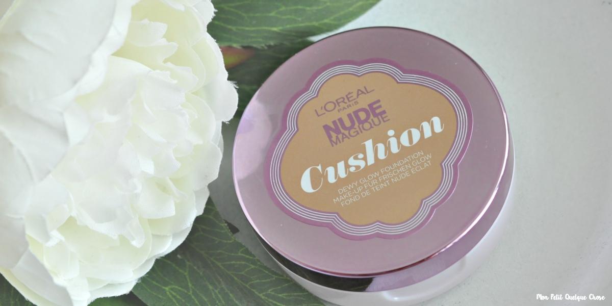 Nude Magique Cushion de L'Oréal : J'adore!