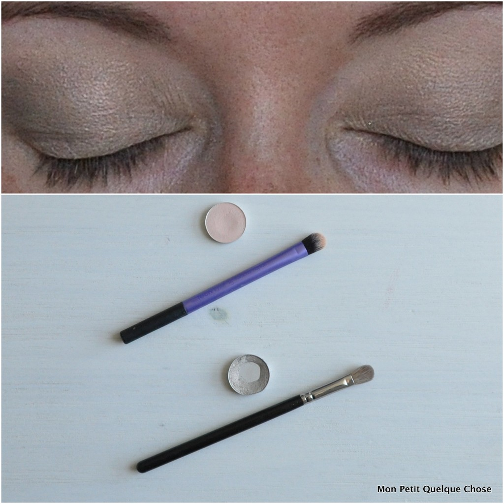 Makeup avec MAC : MAC, Orb / MAC Vex / Domed Shadow Brush / MAC 217