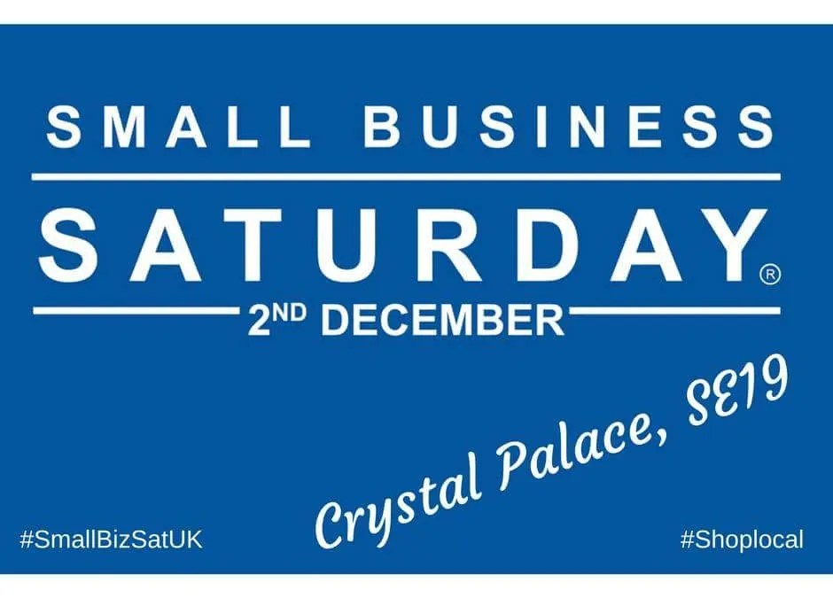 Small Business Saturday on December 2nd