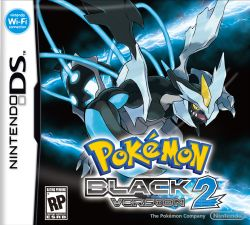 Pokémon Black Version 2 - Boxart