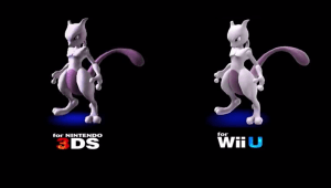 Mewtwo también estará disponible como DLC de pago para Super Smash Bros