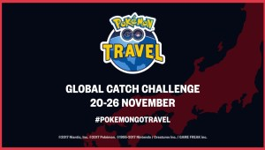 Anunciado el Pokémon GO Travel y el Desafío de Captura Global
