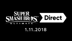 Anunciado para el 1 de noviembre Super Smash Bros. Ultimate Direct