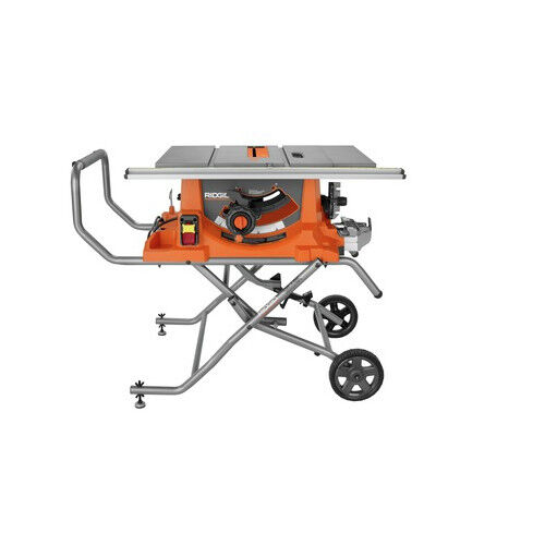 Ridgid ZRR4513 15 Amp 10 in. Portable Table Saw with