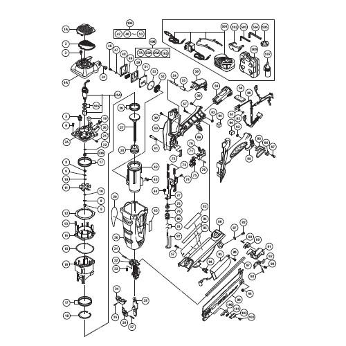 Factory Reconditioned Hitachi NT65GA Hitachi NT65GA 2-1-2