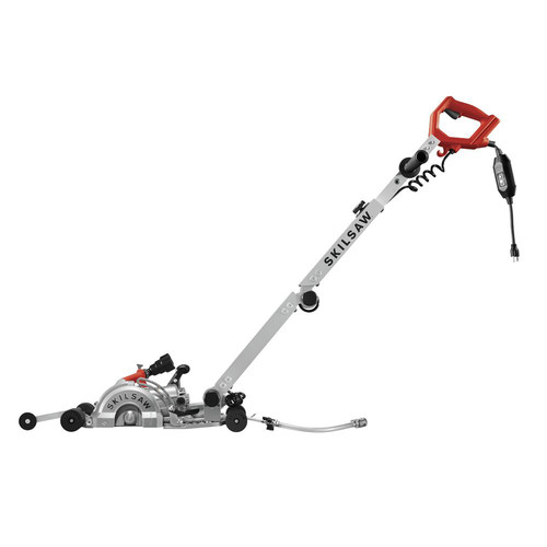 SKILSAW SPT79A-10 7 in. MEDUSAW Walk Behind Worm Drive for