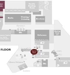 1st floor map [ 1092 x 864 Pixel ]