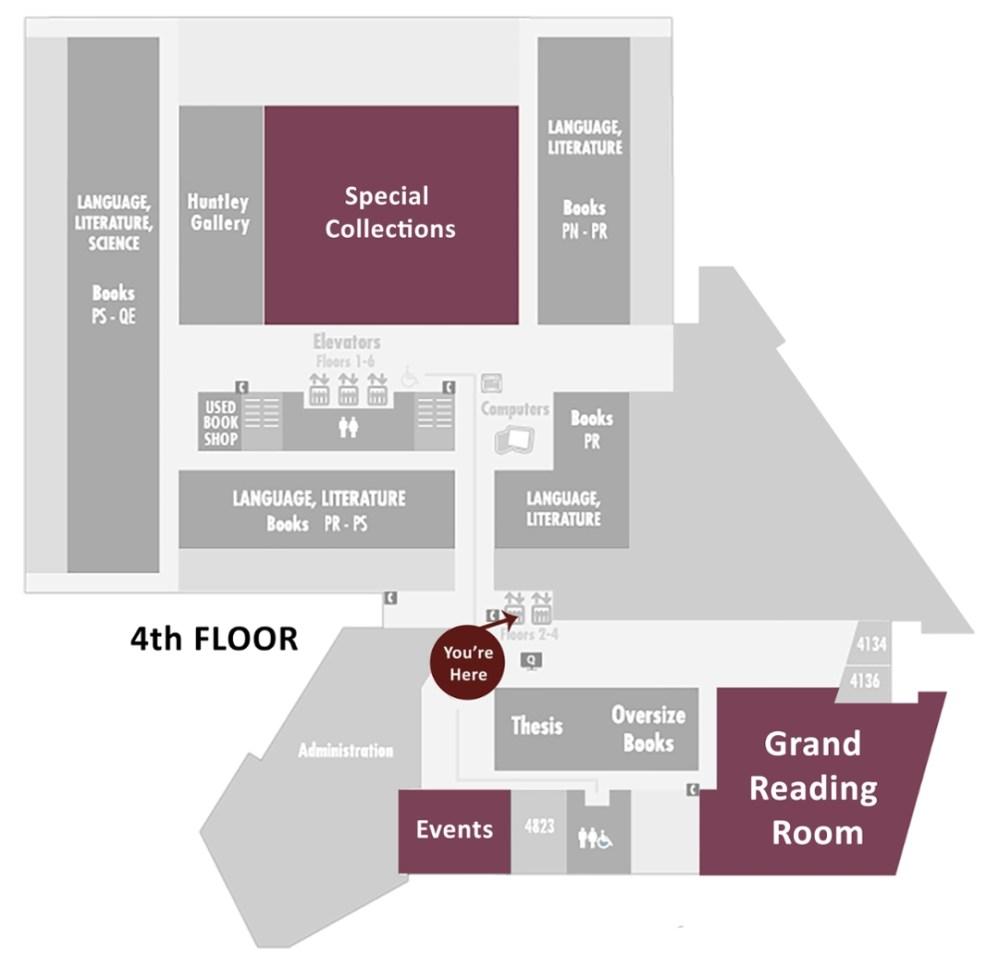 medium resolution of 4th floor map