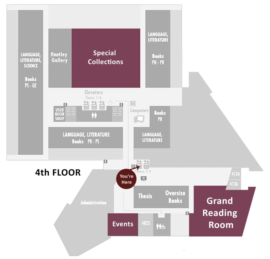 hight resolution of 4th floor map