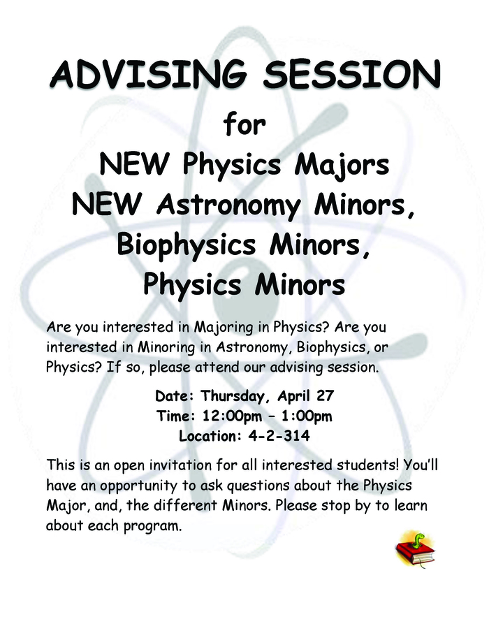 All Interested Students are Welcome!