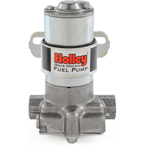 Holley Electric Fuel Pump 140 Gph Quotblackquot Electric Fuel Pump 712