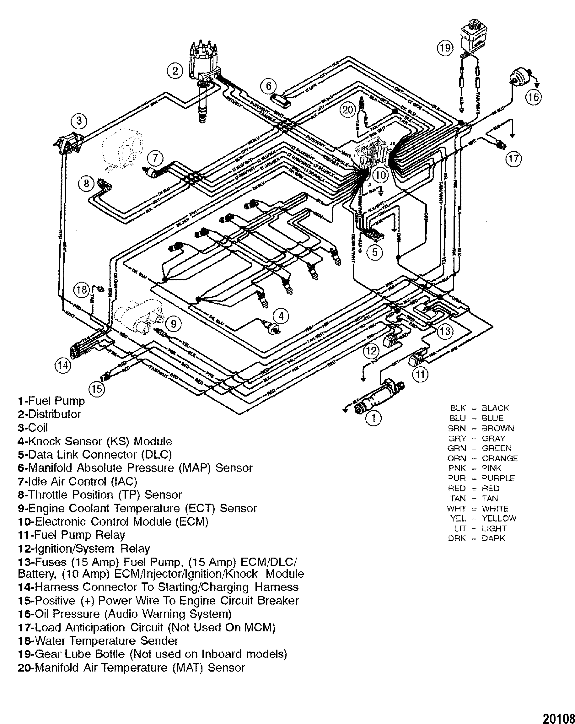 [WRG-3209] Mercruiser 5 7 350 Chevy Wiring Diagram