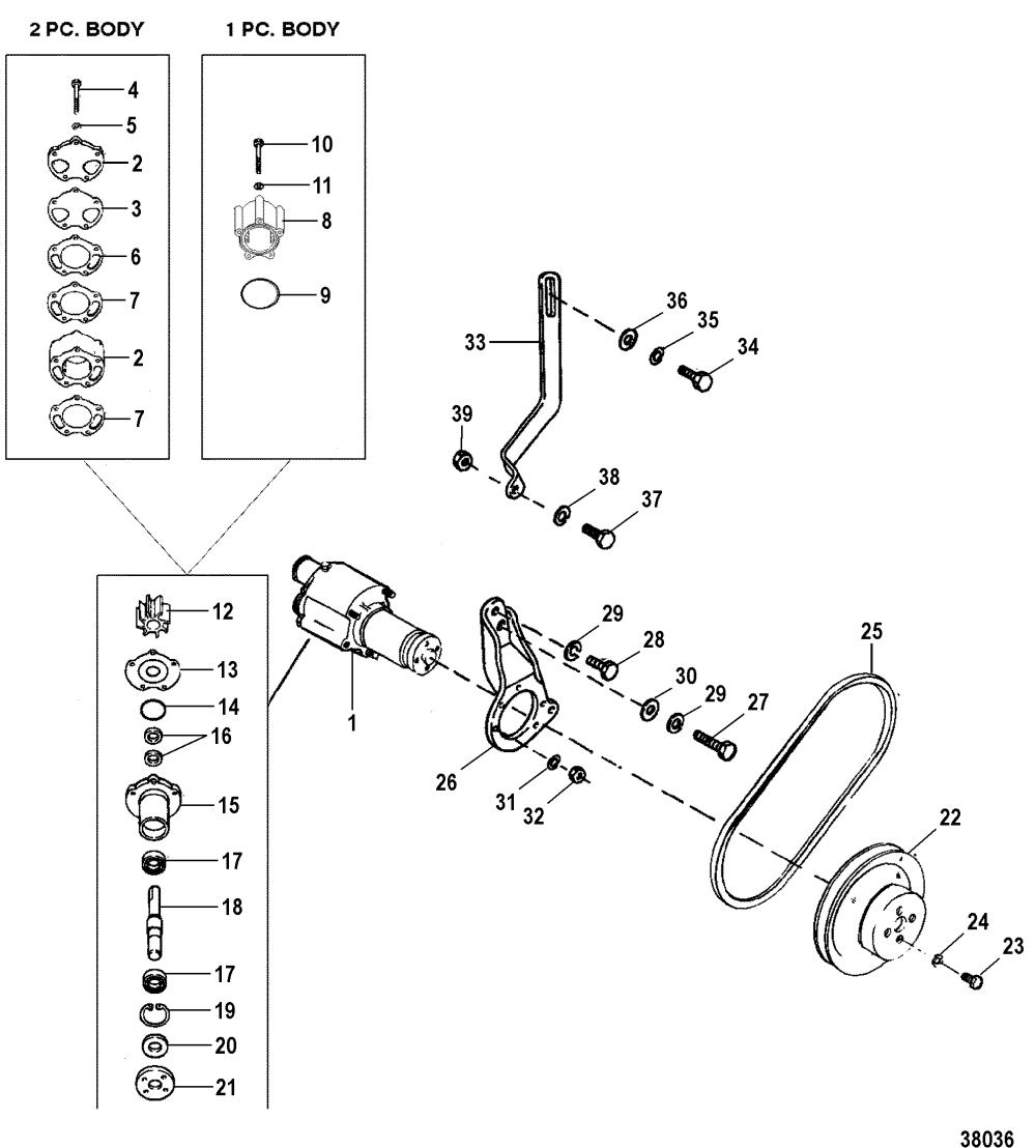 medium resolution of cp performance sea water pump 19961997 0f820000 thru 0k999999 wiring harness engine diagram