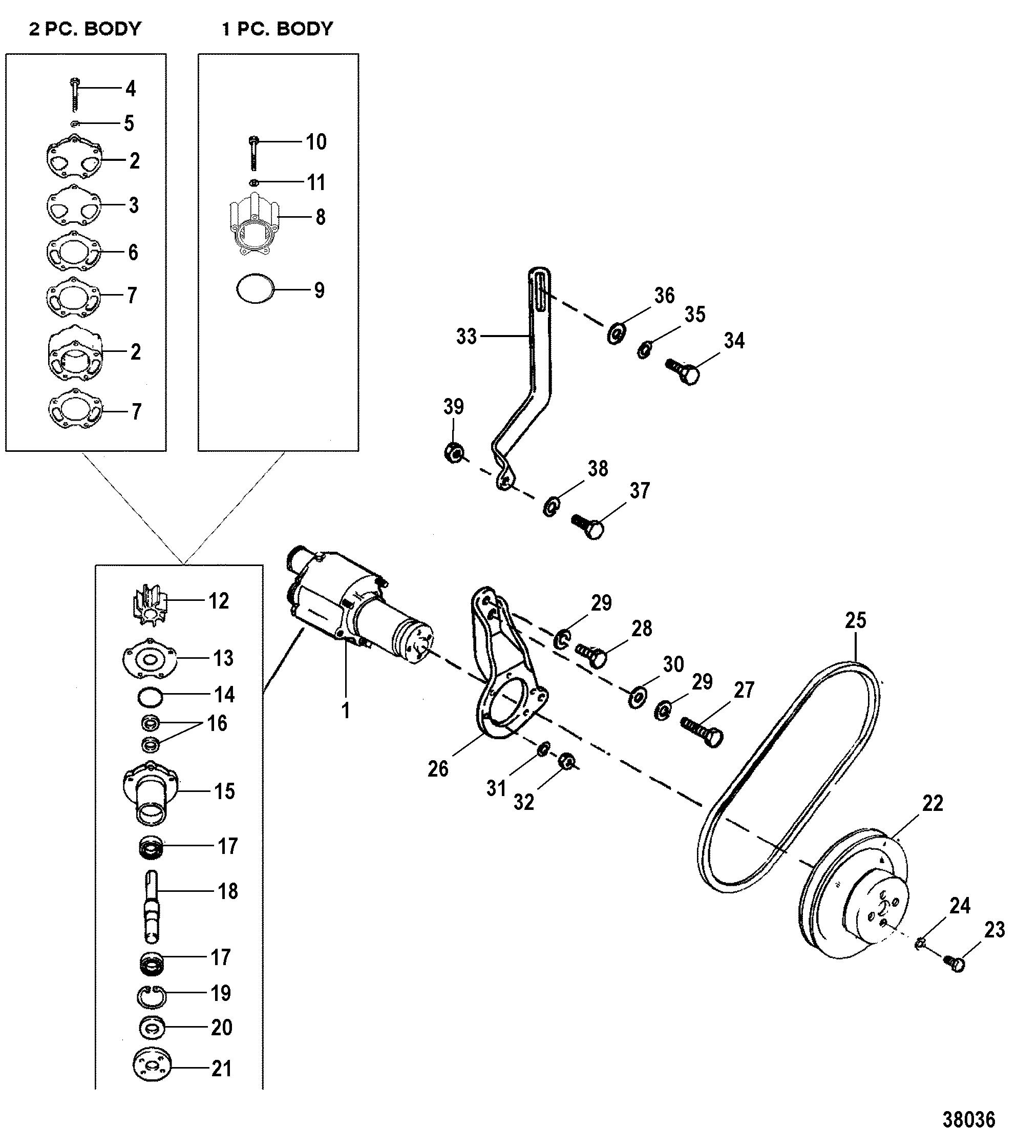 hight resolution of cp performance sea water pump 19961997 0f820000 thru 0k999999 wiring harness engine diagram