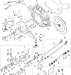 496 mag ec base model serial 1a066166 thru 1a350440 jackshaft main kit [ 2001 x 2464 Pixel ]