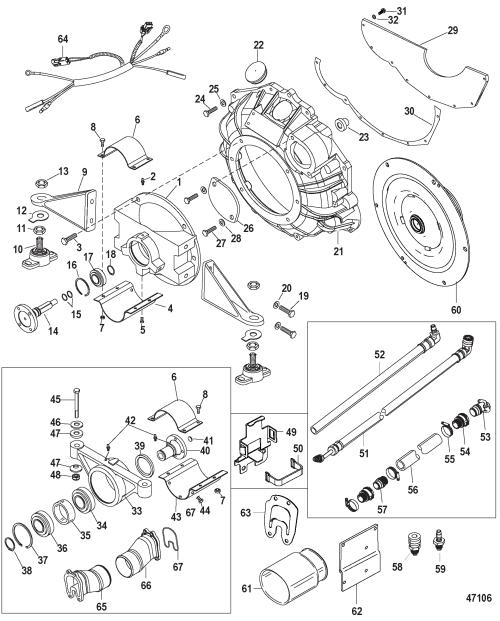 small resolution of 496 mag ec base model serial 1a066166 thru 1a350440 jackshaft main kit