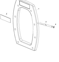 mercruiser transom plate diagram [ 1883 x 2111 Pixel ]