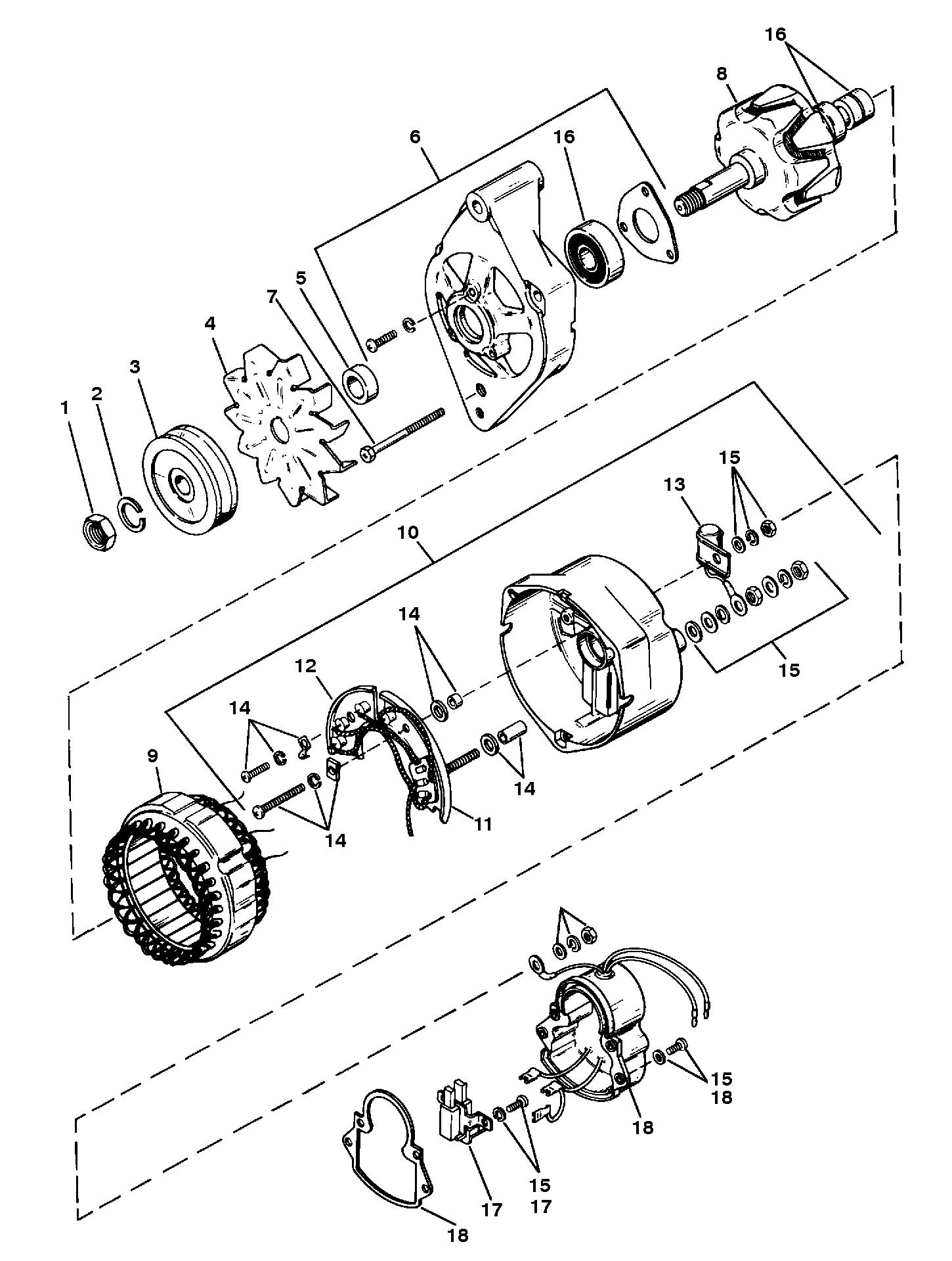 Prestolite Alternator Design | Wiring Diagram Database on mando alternator wiring, nippon denso alternator wiring, sev marchal alternator wiring, valeo alternator wiring, delco remy alternator wiring, mini alternator wiring, leece neville alternator wiring,
