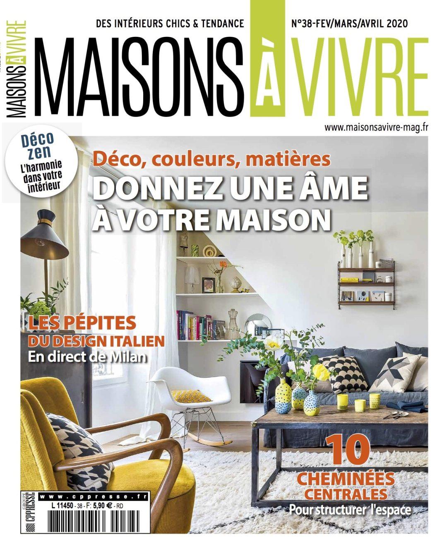 Maison A Vivre Campagne magazines - cppresse | charles philippe presse