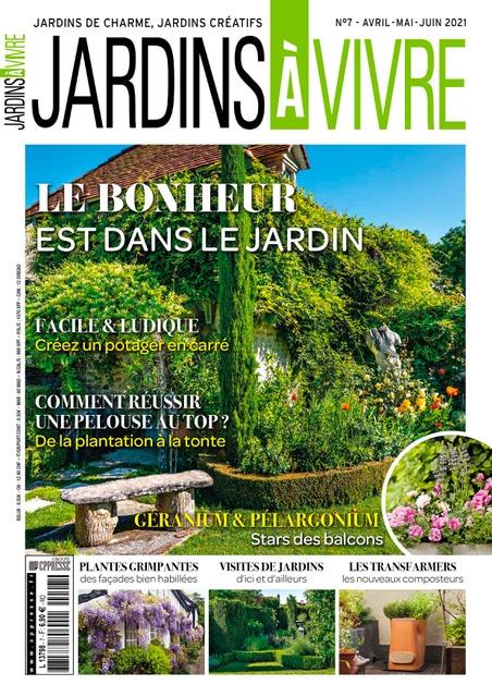 Jardins à Vivre Magazine