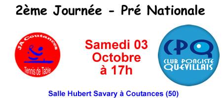 Pré Nationale - Coutances
