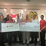 Phillips & Company at Y-98 in St. Louis present their donation to help OK tornado victims