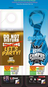 campus invasion door hanger  template