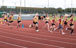 Athletics Race sports injuries