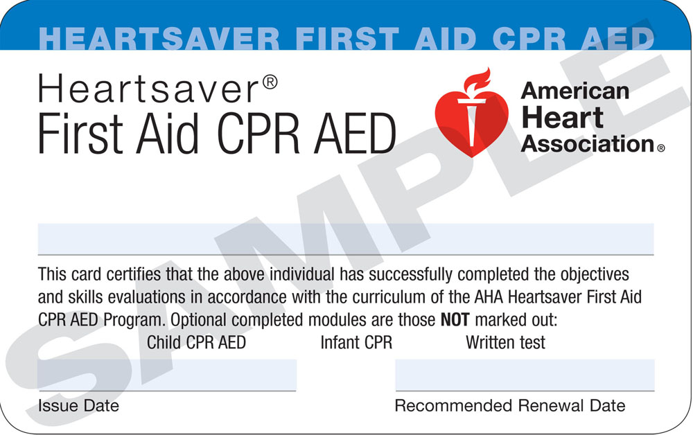 heartsaver first aid cpr / aed | cpr kitsap