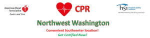 CPR Northwest Washington CPR, AED & First aid certification and training
