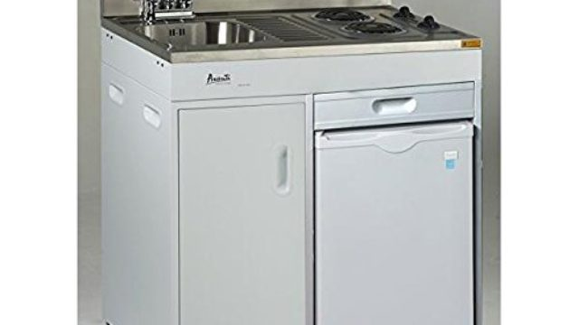 Avanti CK3616 Complete Compact Kitchen 36 Stainless