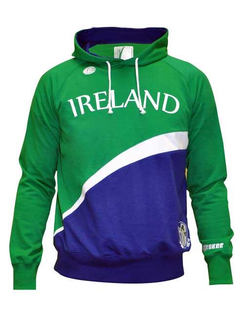 Croker Kids Ireland Sports Hoodie (front)