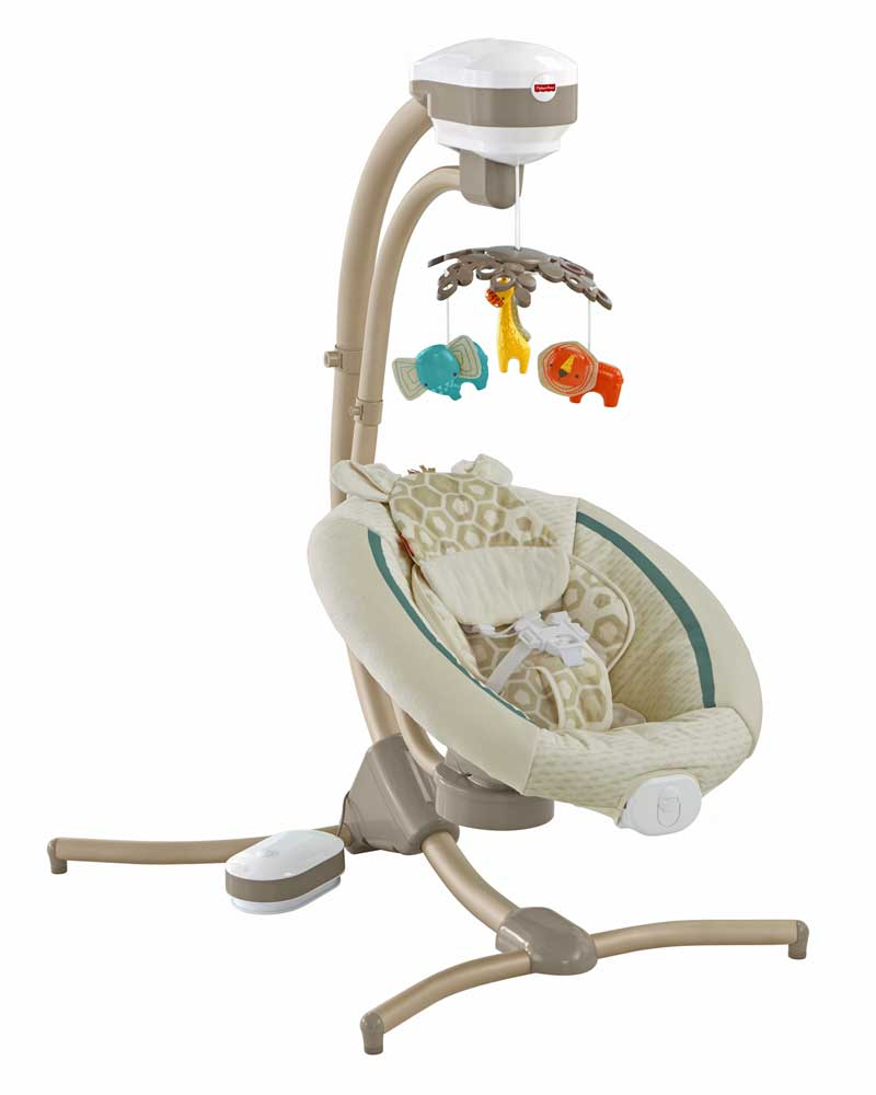 FisherPrice Recalls Infant Cradle Swings Due to Fall
