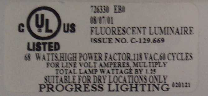 CPSC, Progress Lighting Announce Recall of Fluorescent