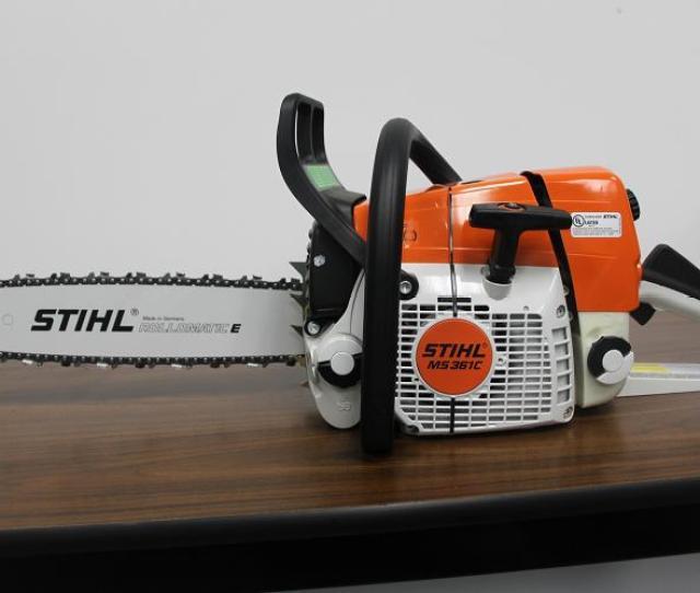 Stihl Inc Recalls Chain Saws Due To Laceration Hazard