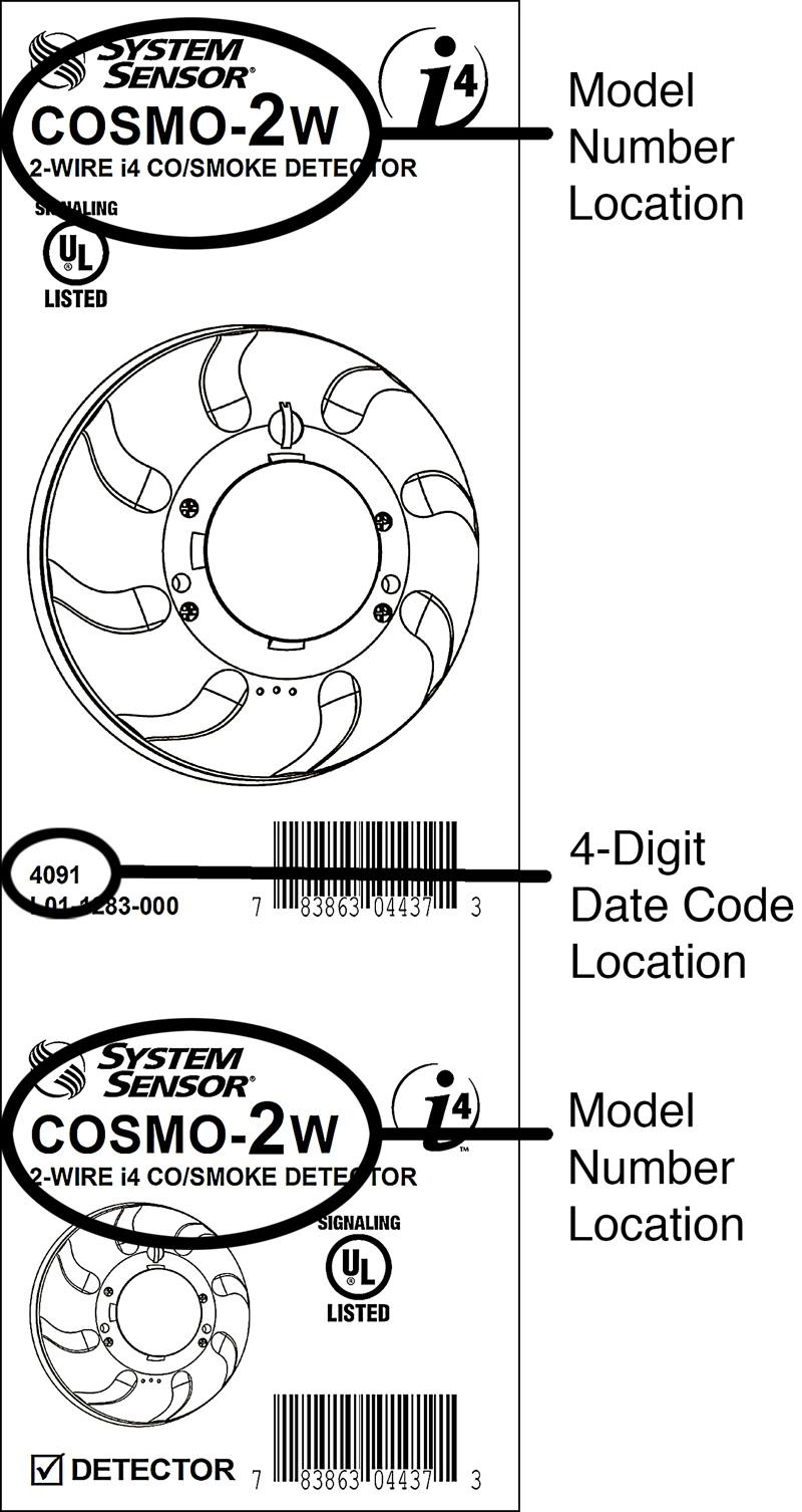 System Sensor Recalls Combination Carbon Monoxide and