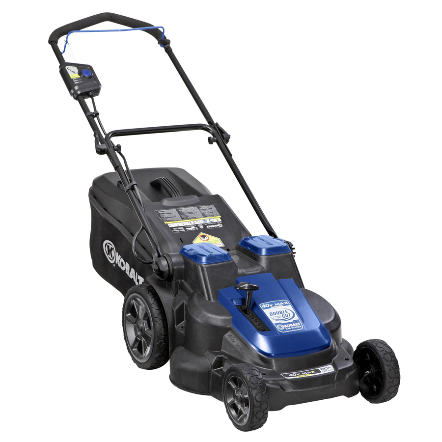 medium resolution of kobalt 40 volt max dual blade lawn mower